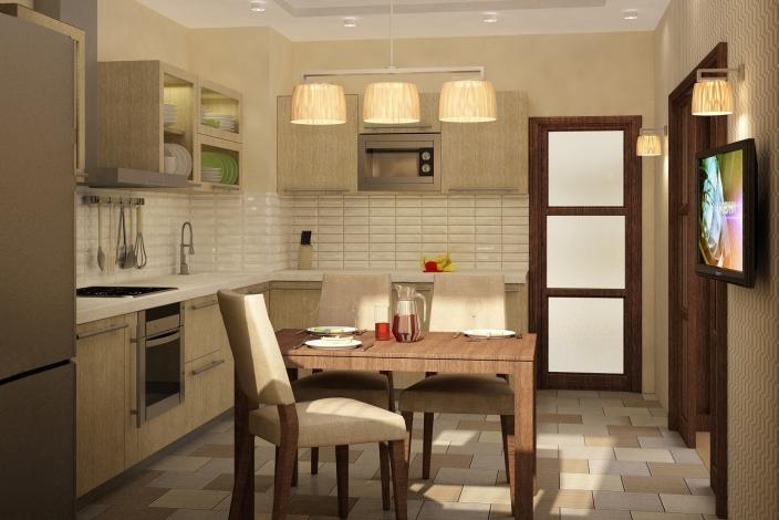 Классический дизайн кухни
